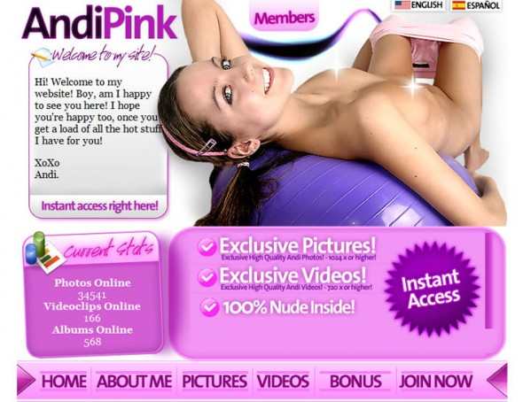Andi Pink Official Site